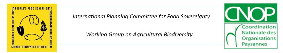 Consultation Africaine des OSC sur la mise en oeuvre des Droits des agriculteurs