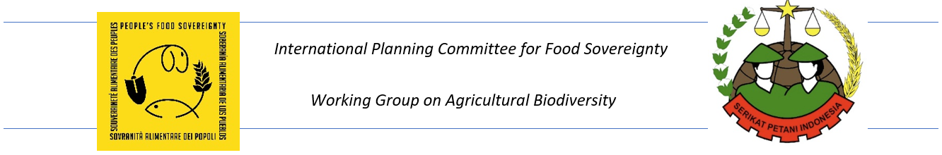 CSOs Consultation of Asia and Pacific on farmers' rights to Plant Genetic Resources for Food & Agriculture 1