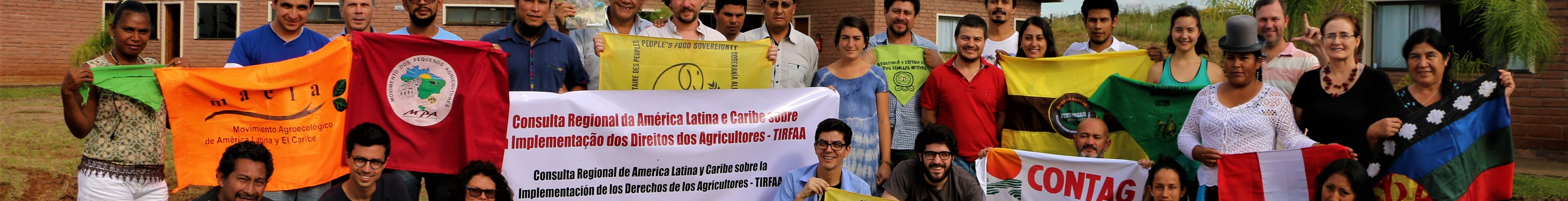 CSOs Latin American and Caribbean Consultation on the implementation of farmers' rights to Plant Genetic Resources for Food & Agriculture 1